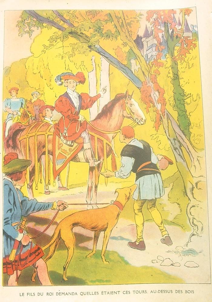 Images dautrefois La belle au bois dormant, illustration  ~ La Belle Au Bois Dormant Anglais
