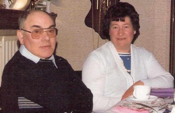 Gerard Mestdagh met vrouw.