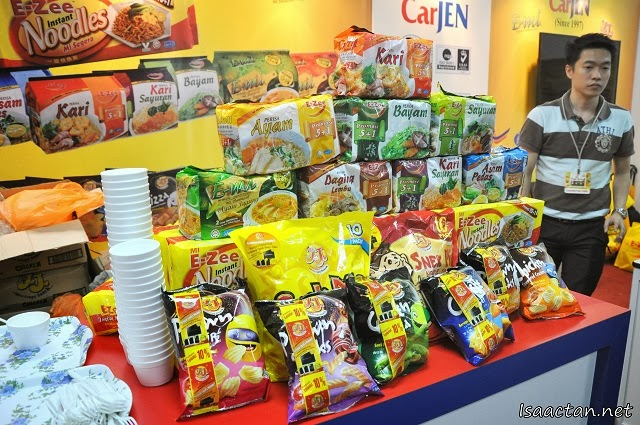 More instant noodles and more at the Mee E-Zee booth