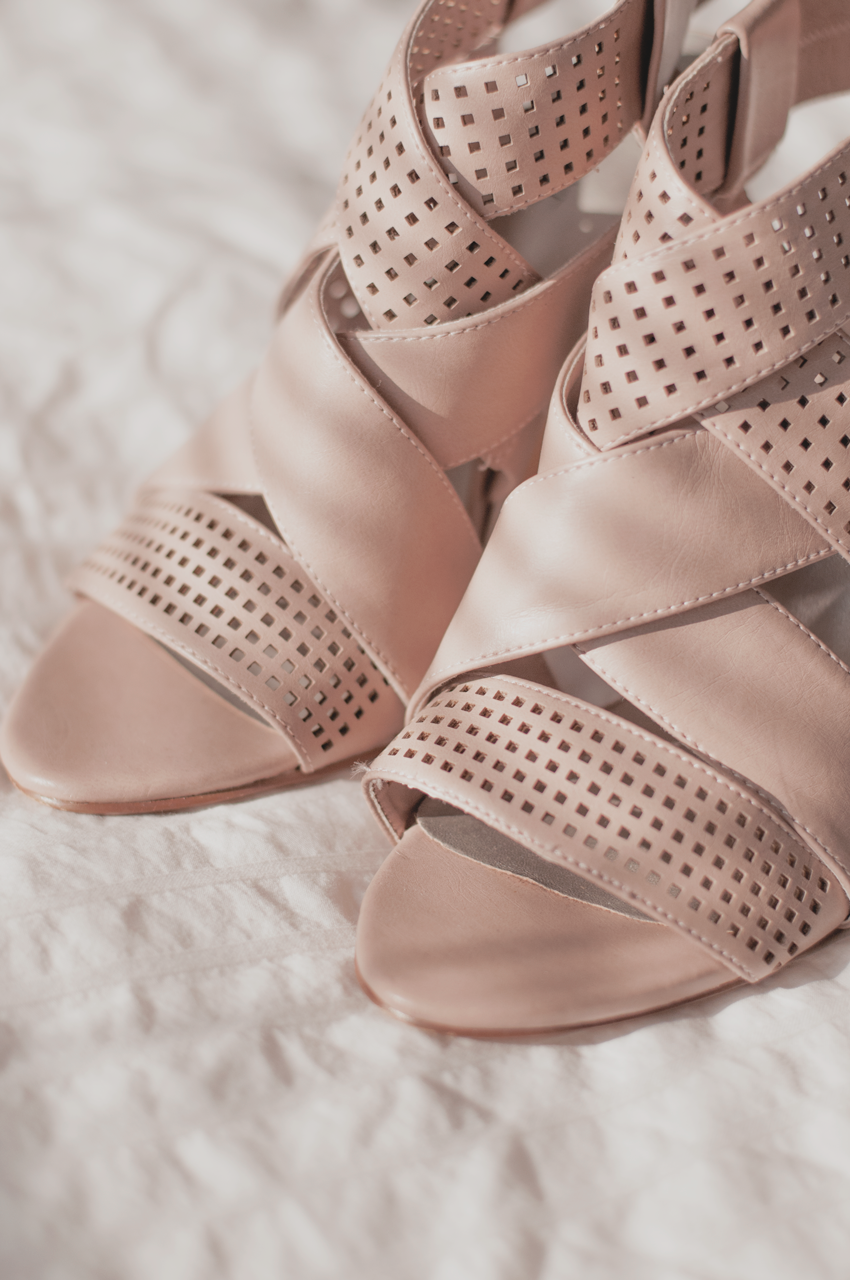 heels blush pink