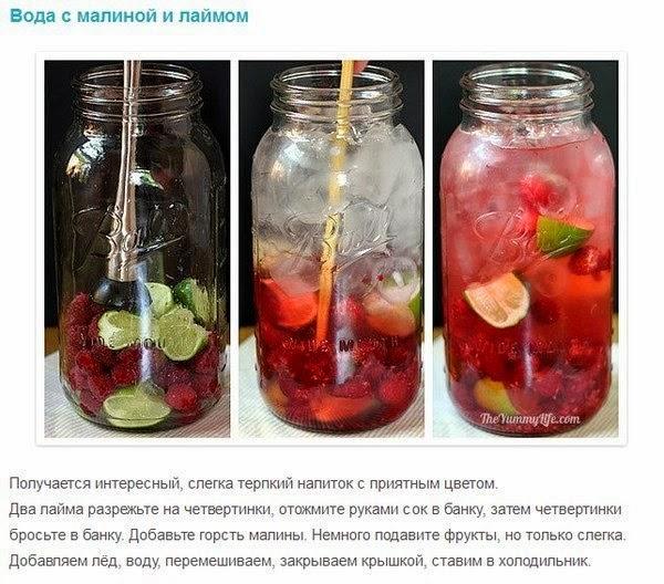 Как сделать полезные напитки
