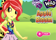 Apple Bloom Wild Rainbow Style