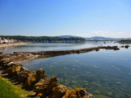One of the brilliant views from Millport