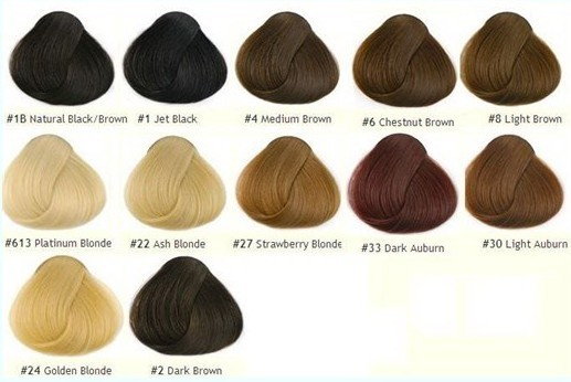Clairol Hair Color Chart  Dark Brown Hairs