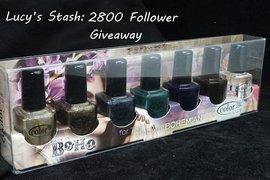 2800 Follower Giveaway!