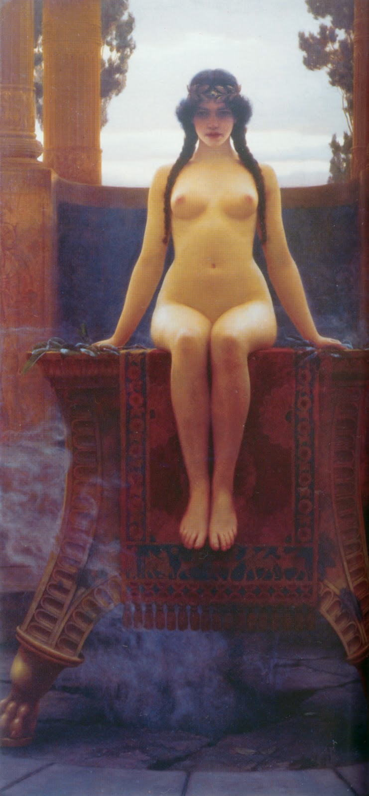 godward delphic oracle