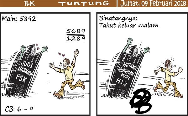 Prediksi Gambar Pak Tuntung Jumat 09 02 2018