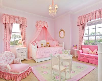 diseño de dormitorio princesa