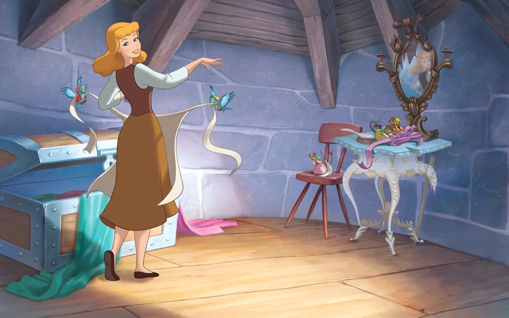 Картинки золушка с принцем