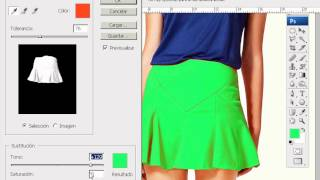 Cambiar, reemplazar colores de una imagen