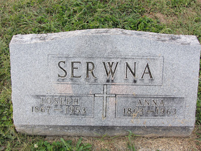 Joseph and Anna (Haitz) Serwna