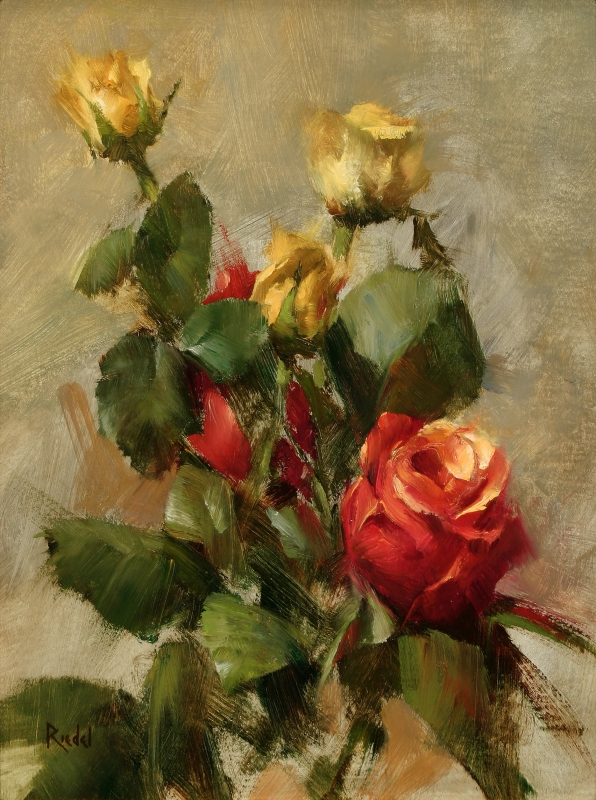 Oil Painting Joe Maher