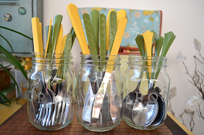 DIY Tutorial Paint Your Own Cutlery Silverware Spray Paint