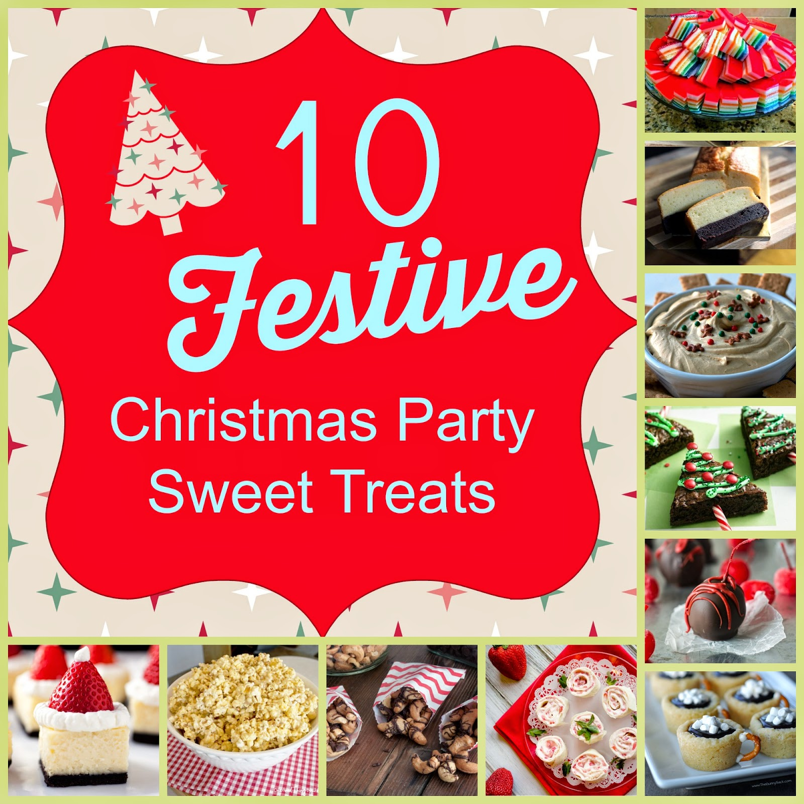 10 festive sweet treat recipes great christmas party finger foods