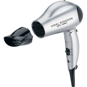 Vidal Sasson Vs784 1875w Ionic Travel Dryer Hair Dryer Diffuser