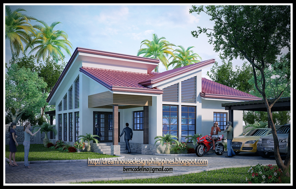 This postmodern house design is a product of 3d studio max software with v ray click the image to enlarge