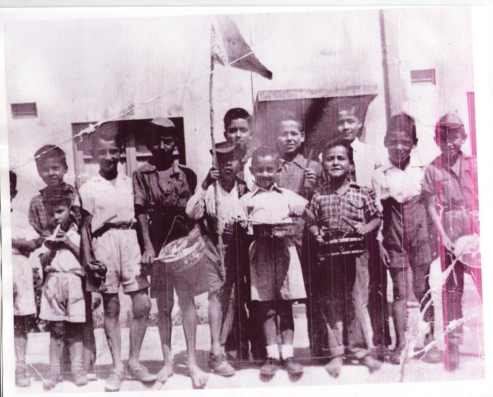 Niños del Barrio. 1950...
