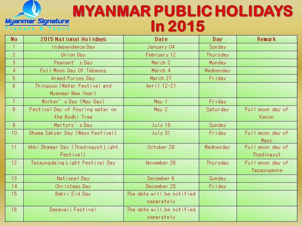 Myanmar Year Calendar : Calendar in myanmar with holidays search results
