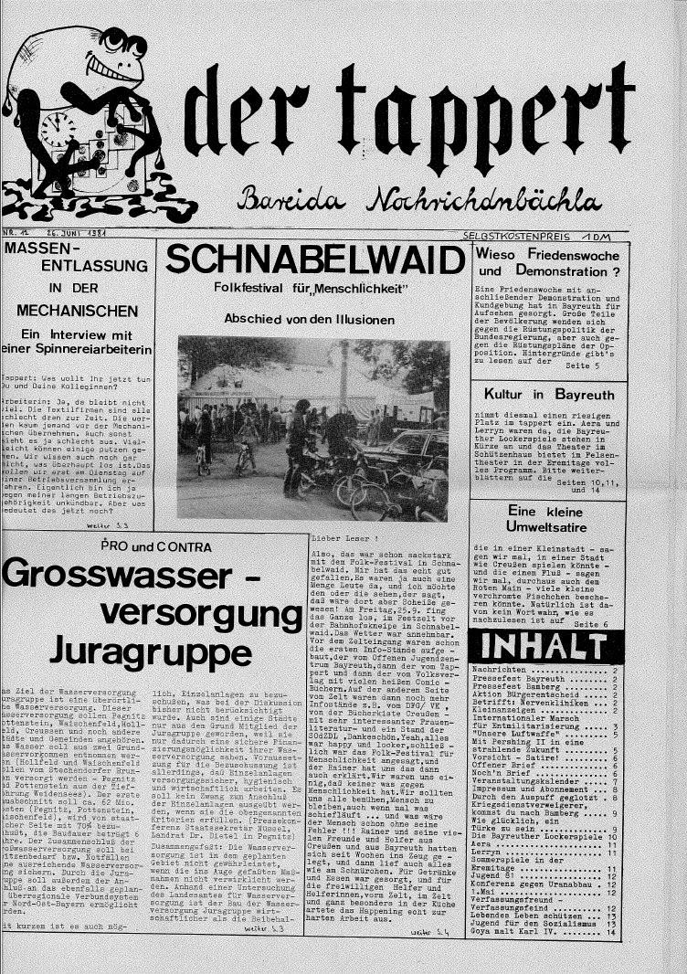 offenes jugendzentrum bayreuth 1974 82 revival party zum 40