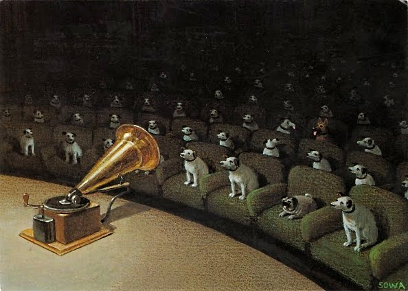 """Their Master's Voice"" by Michael Sowa"