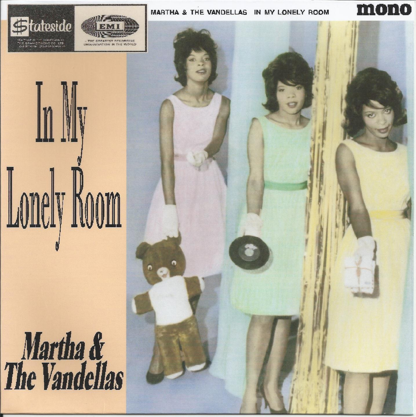 "Single de martha & The Vandellas ""In my lonely room"""