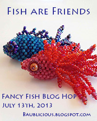 Fish are Friends, Fancy Fish Blog Hop July 13th, 2013