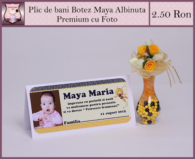 set marturii botez maya albinuta