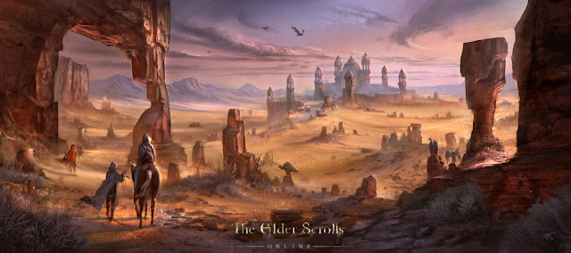 The Elder Scrolls Online concept art wallpaper