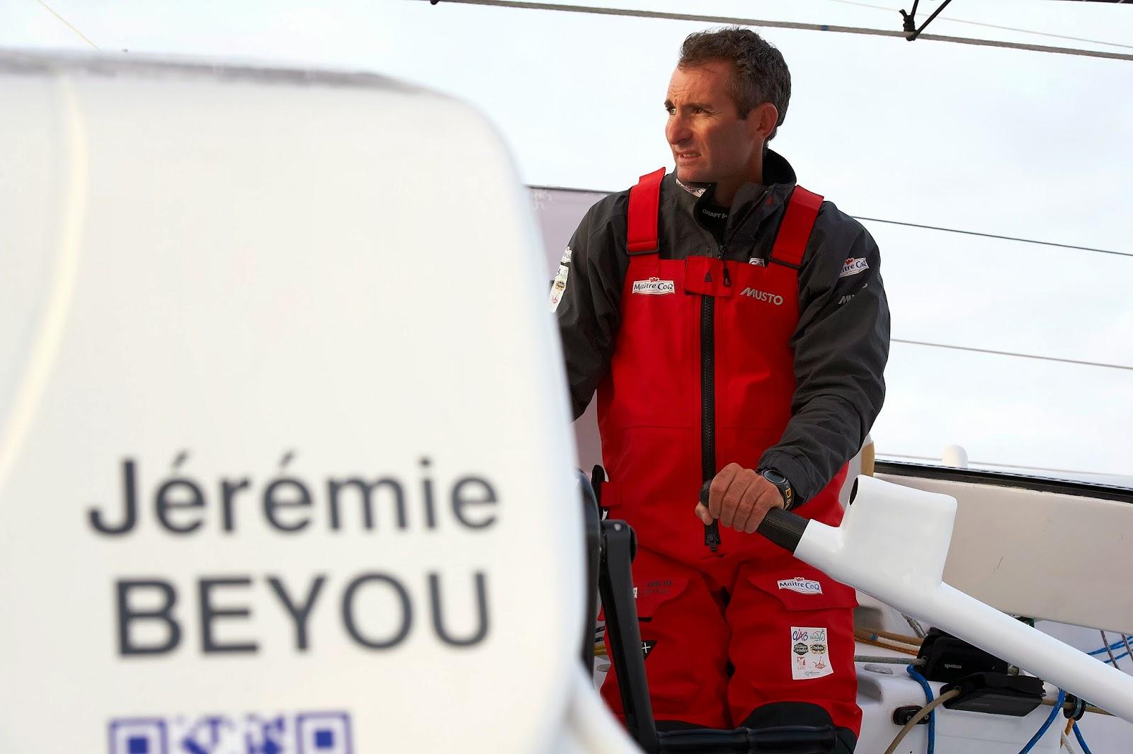 Jeremie Beyou a mis toutes les chances de son côté pour la Route du Rhum