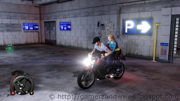 Detective Wei Shen takes Amanda on a bike to drop her to the Kung Fu School
