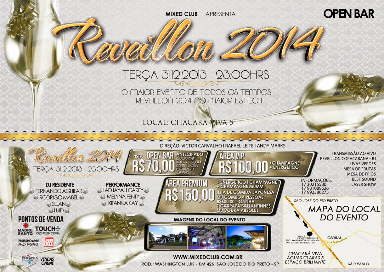 REVEILLON 2014 MIXED CLUB