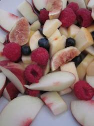 Recuerda: Toma fruta entre horas!