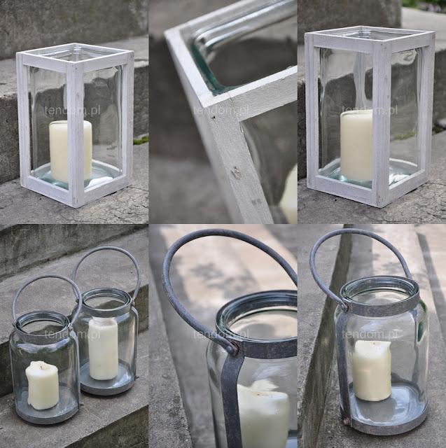 Piękna alternatywa dla tradycyjnego świecznika...