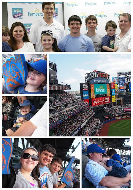 Pampers and Eli Manning salute Fathers at Mets Game #PampersMVDs AndTwinsMake5.com