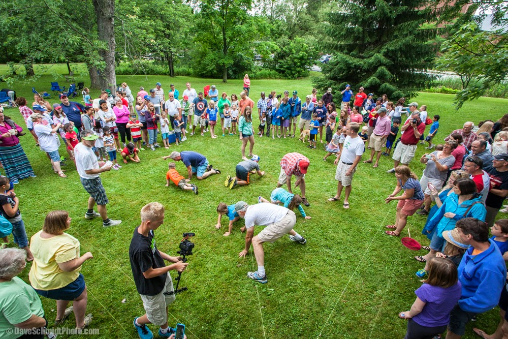 Williston 4th of July frog jumping contest