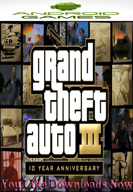 Free Download Grand Theft Auto III v1.4 Android game