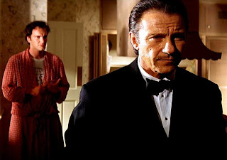 Tarantino's Cameo, Mr. Wolf, Harvey Keitel, in Pulp Fiction, Directed by Quentin Tarantino