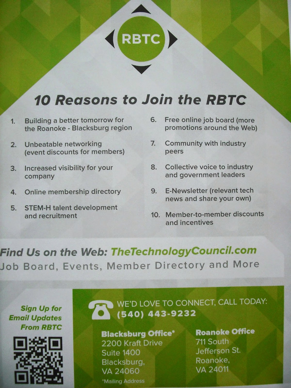 Roanoke Blacksburg Technology Council