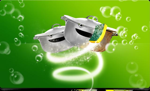 Trik Kilat Menyulap Noda dengan Pembersih Dapur