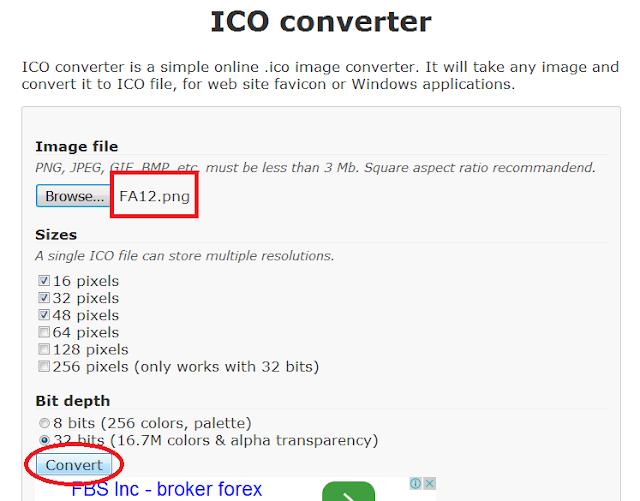 cara mudah membuat favicon blog tanpa software