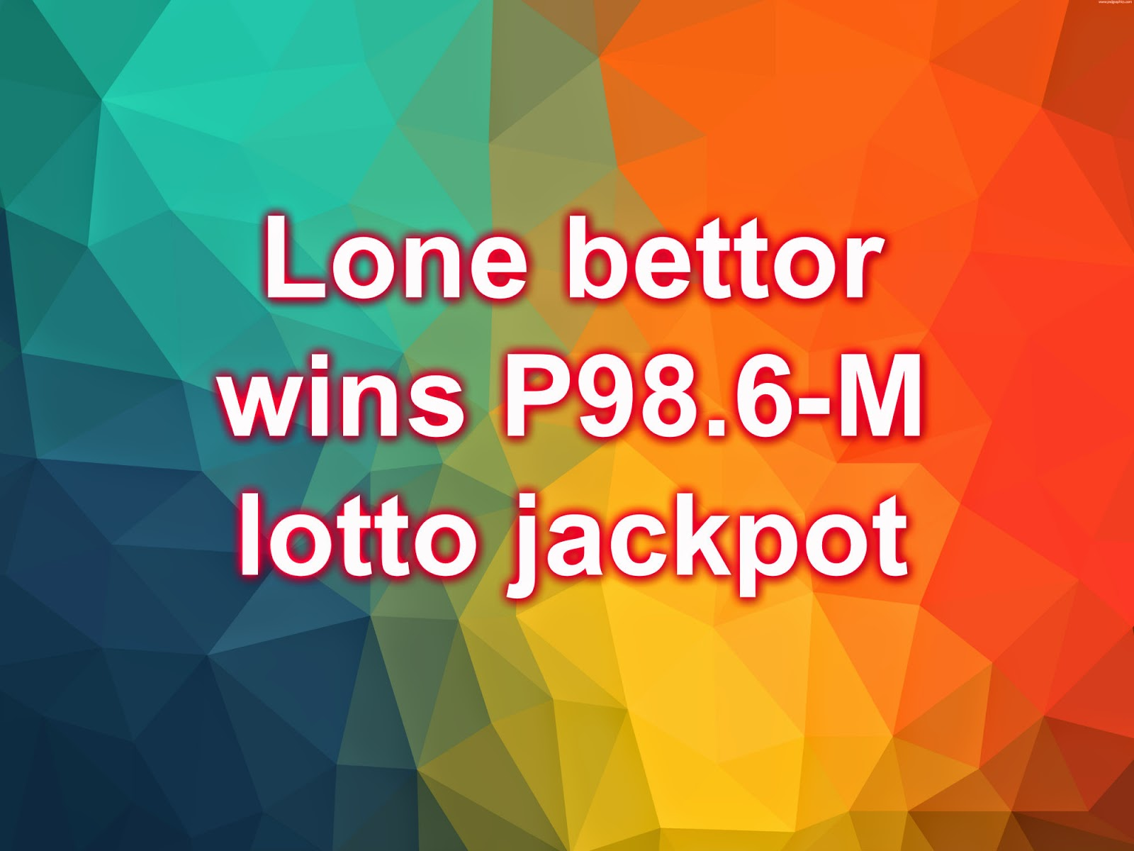Philippine Lotto Result Today