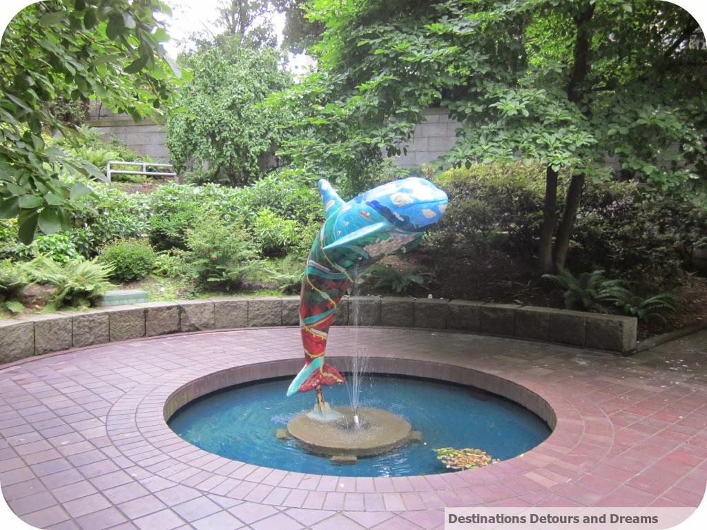 Orca Fountain