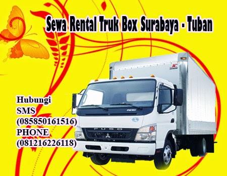 Sewa Rental Truk Box Surabaya - Tuban