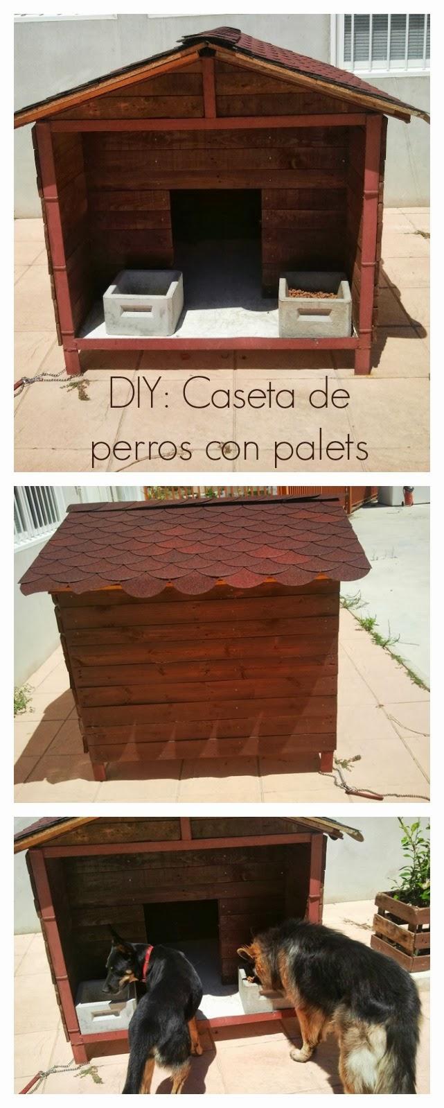 Diy c mo hacer una caseta de perros con palets - Casa de palets para ninos ...