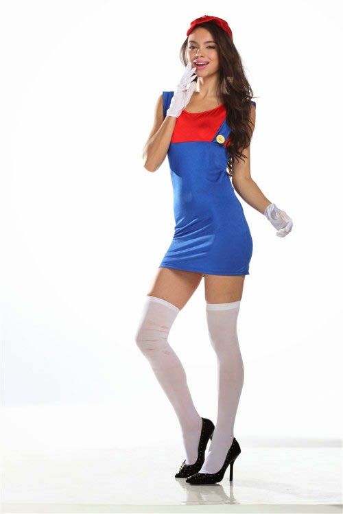 Cosplay Super Mario Bros Chica