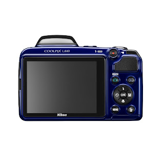 Nikon Coolpix L810 Zoom Digital Camera Back View
