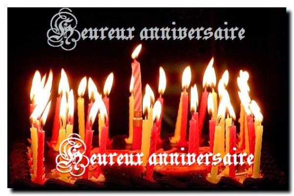 Une joilie carte joyeux anniversaire facebook