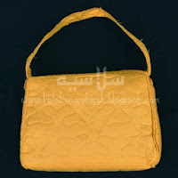 Telekung travel pandangan belakang beg