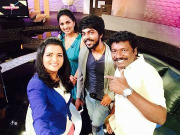Koffee With DD Season 2 ,11-01-2015,Koffee With DD With Actor G.V.Prakash,Karunas,Darling Heroine And Team Today Program with DD, Vijay Tv, Watch Online Koffee With DD