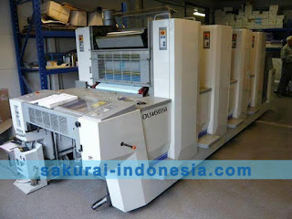 Sakurai Oliver 466 SI/SIP Series | 4 Color printing machine